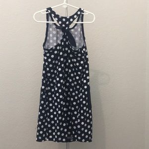 Hanna Andersson Dresses - Hanna Anderson Navy and white polka dot dress